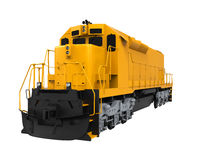 Yellow Freight Train Royalty Free Stock Image