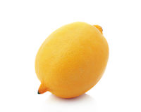 Yellow fresh lemon. Royalty Free Stock Photography