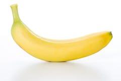 Yellow fruit of fresh banana Royalty Free Stock Photo