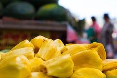 Yellow fruit, jackfruit Royalty Free Stock Photos