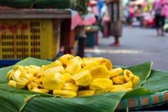 Yellow fruit, jackfruit Royalty Free Stock Photo
