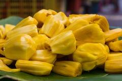 Yellow fruit, jackfruit Stock Photo