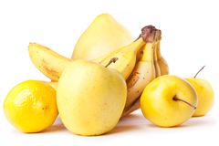 Yellow fruits Royalty Free Stock Image