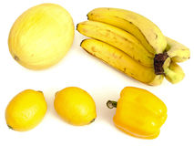 Yellow fruits Royalty Free Stock Images