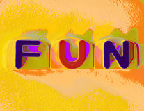 Yellow fun Stock Images