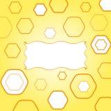 Yellow funky frame stock photo
