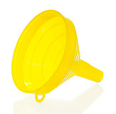 Yellow funnel Stock Photos