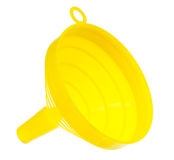 Yellow funnel Royalty Free Stock Photo