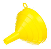 Yellow funnel Royalty Free Stock Photos