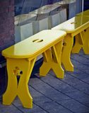 Yellow, Furniture, Table, Wood royalty free stock image