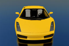 Yellow Gallardo stock images