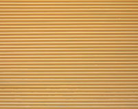 Yellow garage door Royalty Free Stock Photos