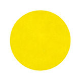 Yellow Garage Sale Sticker. A handy yellow garage sale sticker on a white background Royalty Free Stock Image