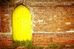 Yellow gateway Stock Images