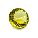 Yellow gem Royalty Free Stock Photography