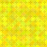 Yellow Geometric Background from Rounds Stock Image