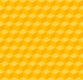 Yellow geometric seamless background Stock Photos