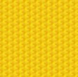 Yellow geometry honeycomb Royalty Free Stock Image