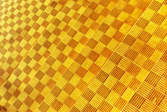 Yellow geometry texture Royalty Free Stock Images