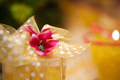 Yellow Gift Stock Images