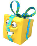 Yellow Gift Stock Photos