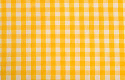 Yellow Gingham Background Royalty Free Stock Image
