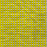 Yellow Gingham Crumpled Paper Stock Photography