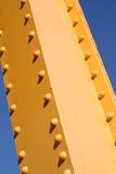 Yellow Girder Stock Image