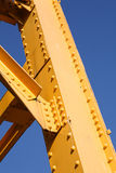 Yellow Girder Royalty Free Stock Photo
