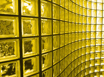 Yellow Glass Block Stock Photos