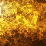 Yellow glass broken space background Stock Photos