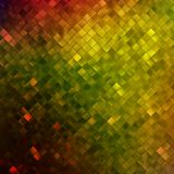 Yellow glitters on a soft blurred. EPS 10 Stock Photography