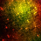 Yellow glitters on a soft blurred. EPS 10 Royalty Free Stock Photo