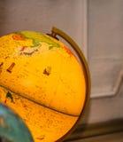 Yellow globe Stock Photos