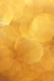 Yellow Gold Blur Background - Xmas Stock Photos royalty free stock image