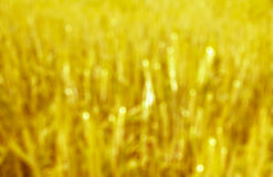Yellow gold and bokeh abstract art background Stock Photography