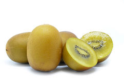 Yellow gold kiwi fruit Royalty Free Stock Image