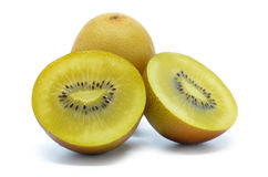 Yellow gold kiwi fruit Royalty Free Stock Photography