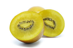 Yellow gold kiwi fruit Stock Images