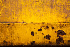 Yellow Gold Rusty Brown Background Texture Stock Photography