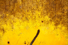 Yellow Gold Rusty Brown Background Texture Stock Image