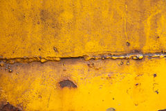 Yellow Gold Rusty Brown Background Texture Royalty Free Stock Photography