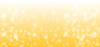 Yellow or Gold Sparkle Vector Background Design. Isolated Vector royalty free illustration