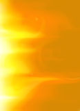 Yellow Gold Sun Solar Flare Flames Background Option 6 Stock Image
