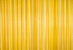 Yellow and golden curtain. Stock Photography