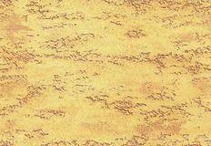 Yellow golden seamless stone texture venetian plaster style background pattern. Traditional venetian plaster stone texture royalty free stock photos