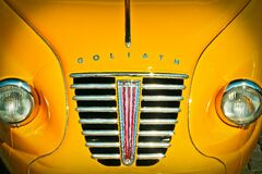 Yellow Goliath Car Stock Photography