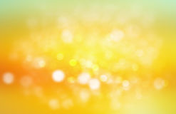 Yellow gradient blurred background. Stock Images