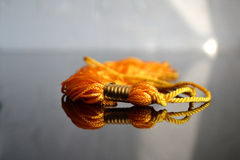 Yellow Graduation Tassel Royalty Free Stock Images