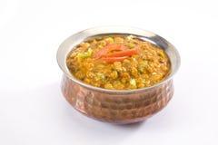 Yellow Gram & Split Black Lentils Curry Stock Photo